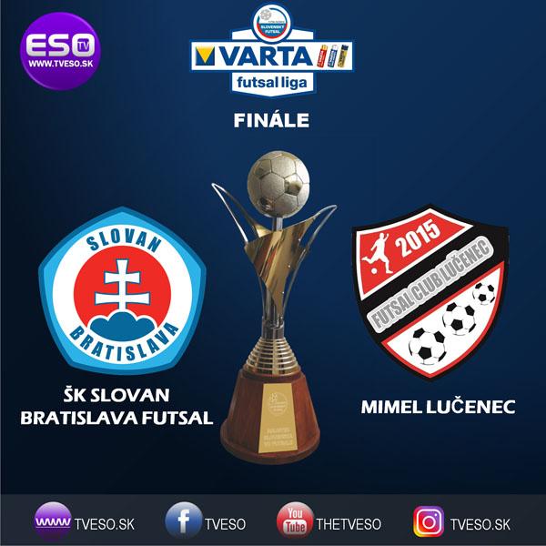Sestřih finále slovenské VARTA futsal ligy